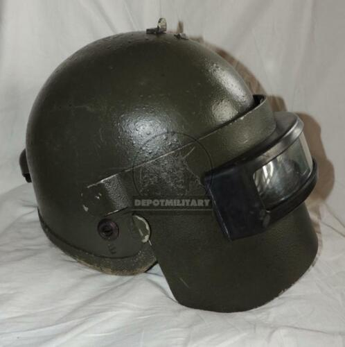 ORIGINAL EARLY ALTYN R1 ARMOR HELMET NARROW VISOR RUSSIAN SPETSNAZ FSB ALPHA Original Period Items - 156451