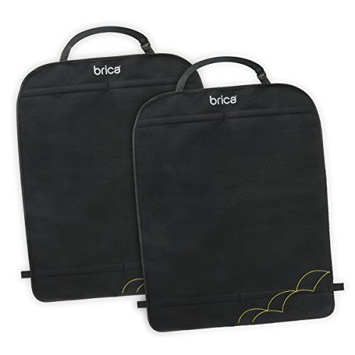 BRICA Deluxe Car Seat Kick Mats, Pack of 2