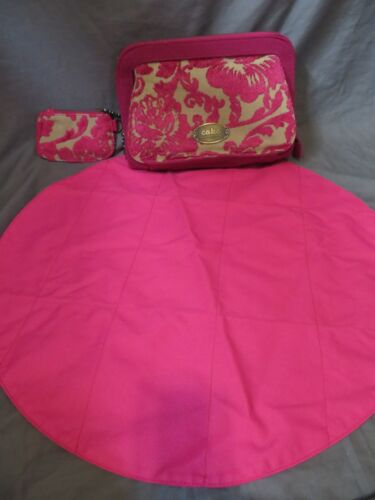 Cake Petunia Pickle Bottom Pink Tapestry Clutch Baby Diaper Bag Damask Tapestry
