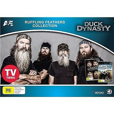 Duck Dynasty -Ruffling Feathers Collection Seasons 1 & 2 DVD Region 4 | 4 Discs