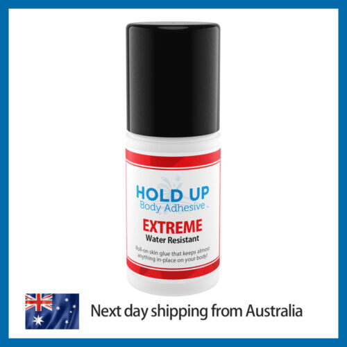 Hold Up Body Adhesive Extreme   Extra Strong   WATER RESISTANT   Skin Adhesive