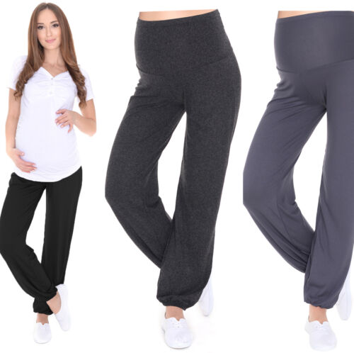 e73b26507da MijaCulture Relaxed Maternity trousers pants Harem Aladin with extra panel  4069