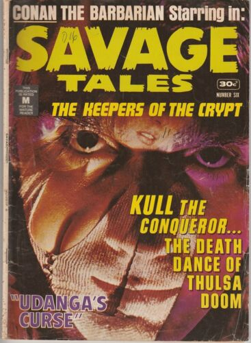"Australian: Savage Tales #6 Murray Comics 1975 3 ""Classic Stories"""