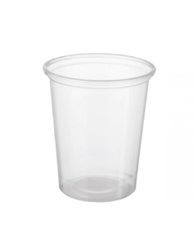 Reveal Clear Round Containers Plastic Food Cont 200ml x 50