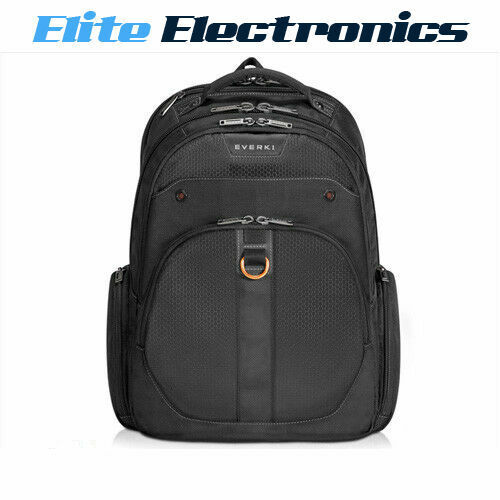 "EVERKI EKP121S15 11"" TO 15.6"" ATLAS CHECKPOINT FRIENDLY LAPTOP BACKPACK BAG"