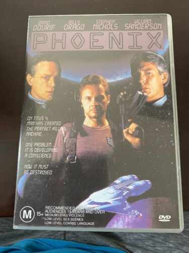 Phoenix region 4 DVD (1995 Brad Dourif sci-fi movie) ** rare **