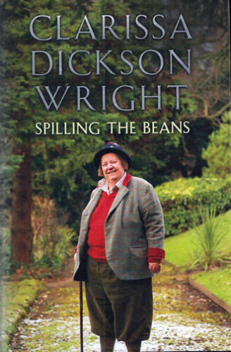 SPILLING THE BEANS * By Clarissa Dickson Wright * Two Fat Ladies * LARGE PRINT