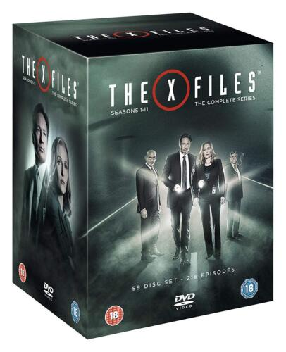 """THE X FILES COMPLETE SERIES COLLECTION 1-11 DVD BOX SET 59 DISC R4 """"NEW&SEALED"""""""