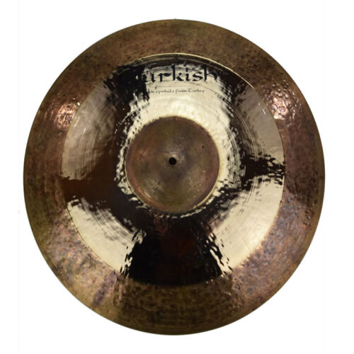 "TURKISH CYMBALS Becken 20"" Ride Studio bekken cymbale cymbal 2497g"
