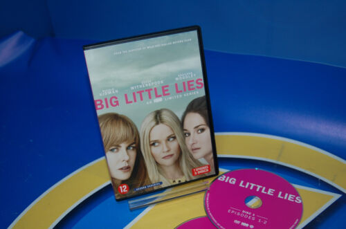 Serie en dvd Inglesa BIG LTTLE LIES -7 episodios-3 dvds