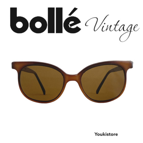 BOLLE' occhiali sole VINTAGE 80's BROWN, brown lenses made in France!