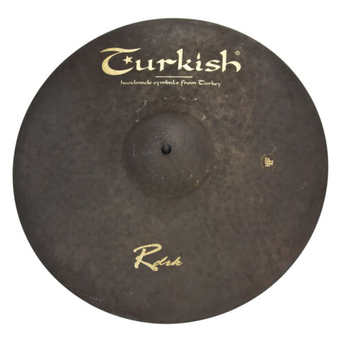 "TURKISH CYMBALS Becken 17"" Crash Rock - RawDark bekken cymbale cymbal 1244g"