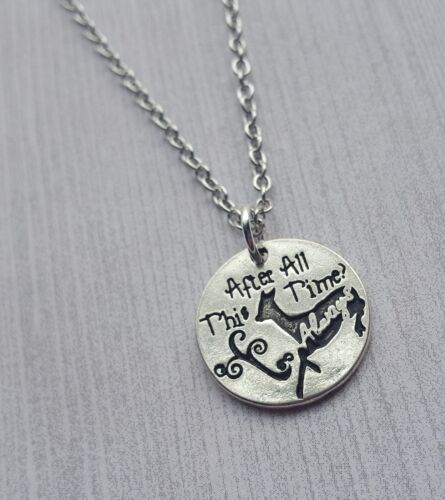 After All This Time? Always. Silver Doe Harry Potter Necklace