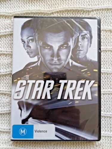 STAR TREK (DVD) REGION-4- NEW AND SEALED-FREE POST WITHIN AUSTRALIA