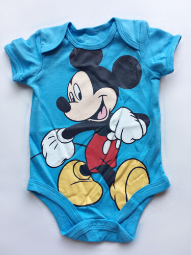 Baby Romper Toddler Jumpsuit Playsuit Outfits Clothing Mickey Short sleeve