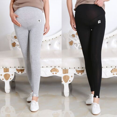 Pregnant Women Abdominal Maternity Pencil Pants Stretchy Skinny Leggings Clothes
