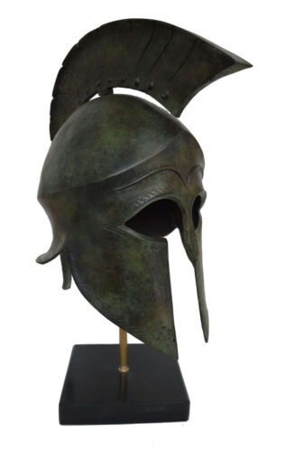 Spartan Great bronze real size exceptional high quality helmet