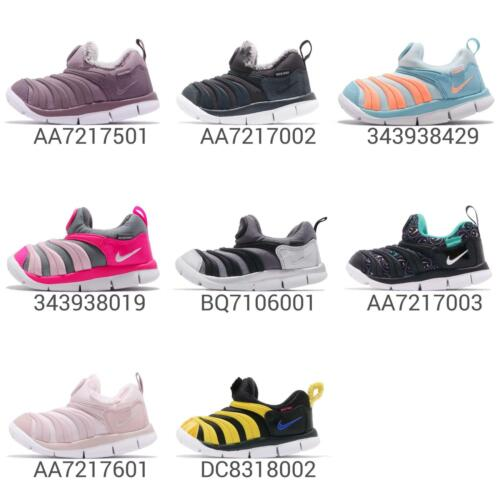 c990a7d342f6 Nike Dynamo Free SE TD Toddler Infant Baby Shoes Sneakers Trainers Pick 1
