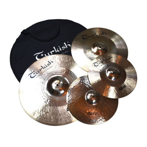 "TURKISH cymbal cymbale bekken Becken Set 14""-16""-20"" APEX - rock series"