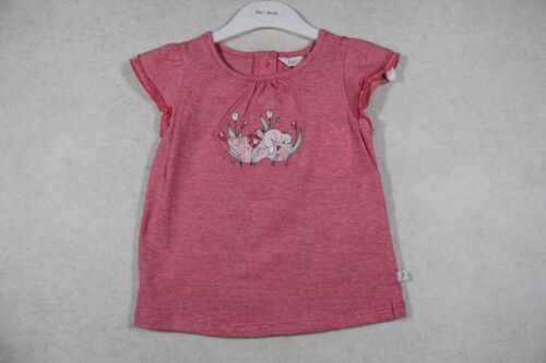 Baby Girl Size 000,00,0,2 Fox & Finch Summer Pink Stripe Tee With Motif  NWT