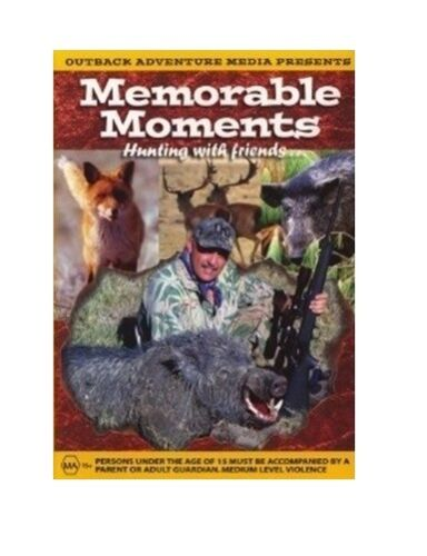 NEW Hunting DVD Memorable Moments 1 - Pigs, Fox Whistling Stag Deer Bear NSW QLD