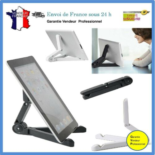 Support Tablette Pliable Universel Portable Ipad Smartphone Ou Autres