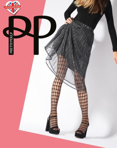Pretty Polly Lace-Top Thigh-High Chocolate Sensation Hold-Up Stockings
