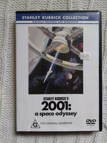 2001: A SPACE ODYSSEY – DVD R-4, LIKE NEW, FREE POST WITHIN AUSTRALIA
