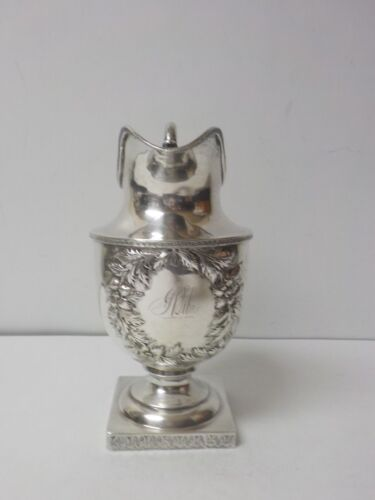 S. KIrk & Son Coin Silver Milk Jug / Pitcher, 395 grams