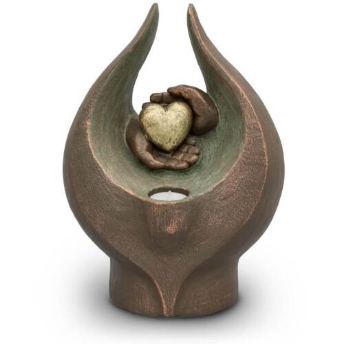 Hand Sculpted Cremation Memorial Funeral Urn For Ashes
