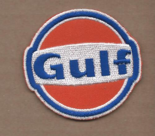 Patch Iron on For GULF Oil Gasoline Service Pump Garage t shirt Sign Badge Logo