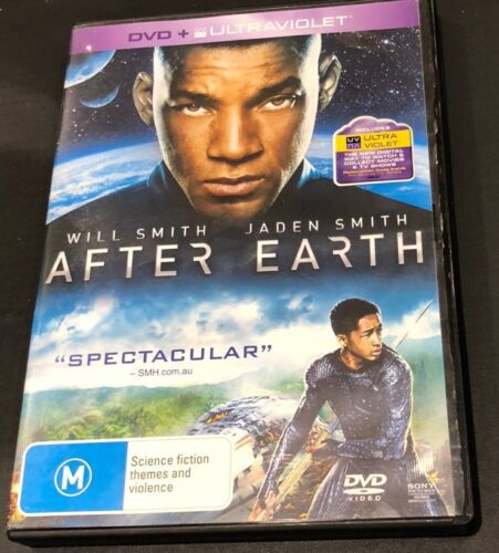 After Earth (DVD, 2013) Includes Ultraviolet Copy Region 4 Very Good Condition