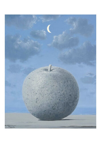 Remember Travel A2 by Rene Magritte Surrealism High Quality Art Print