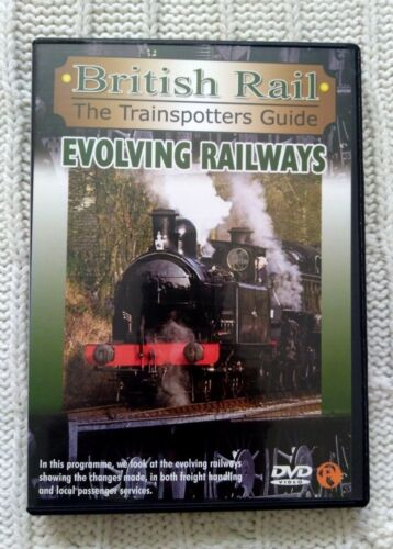 BRITISH RAIL THE TRAINSPOTTERS GUIDE – EVOLVING RAILWAYS – DVD-R-ALL- LIKE NEW