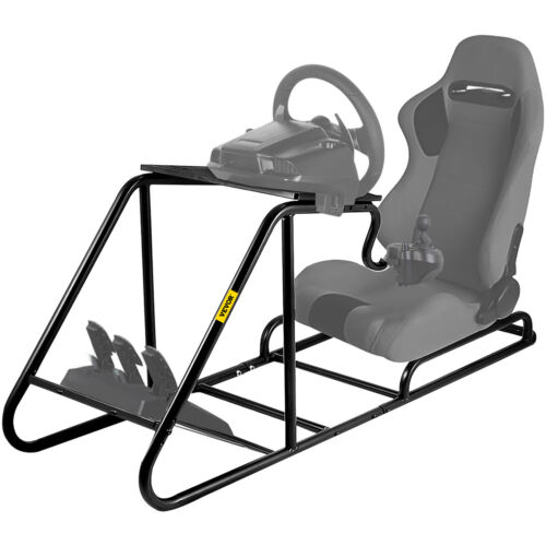 Racing Simulator Cockpit Wheel Stand for PS3 PS4 Xbox Play Station Upholstered