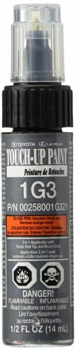 Genuine Toyota Magnetic Gray 1G3 Touch-Up Paint .5oz 00258-001G3-21 <br/> From Elmhurst Toyota an Authorized Toyota Dealer