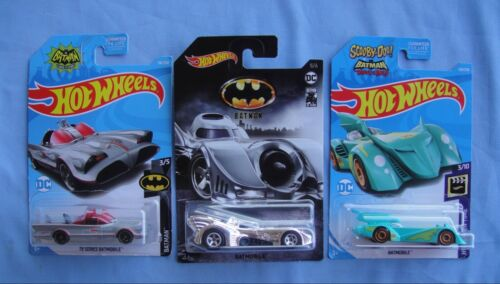 2019 Hot Wheels  DC Scooby Doo Brave and the Bold  Batmobile   low intl ship