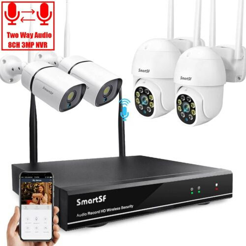 anni 4CH 1080N DVR 1500TVL Indoor/Outdoor IR Video CCTV Security Camera System