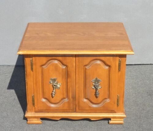 Vintage French Provincial End Table Nightstand