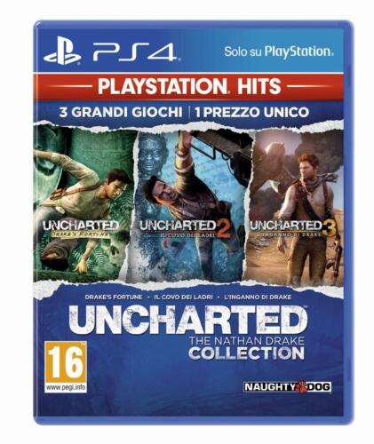 Sony Uncharted: The Nathan Drake Collection, PS Hits, PS4 videogioco PlayStation