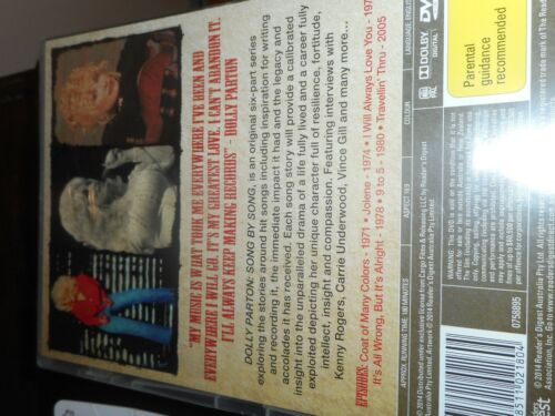 Dolly Parton - Sony By Song (DVD, 2014, 2-Disc Set)
