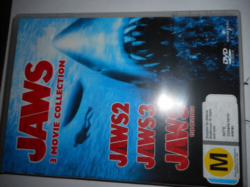 jaws 3 movie collection dvd set
