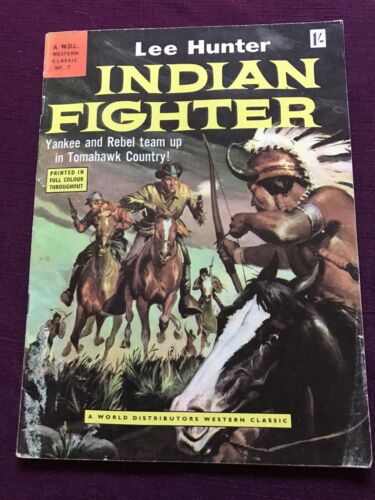 Vintage Western Classic 1957 Comic Indian Fighter