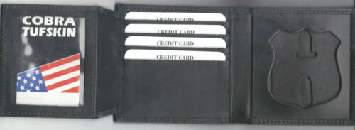 PA Dual-ID Tri-Fold Money//Credit Card Wallet New York City Corrections Officer