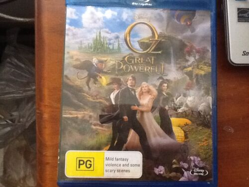 Oz The Great And Powerful Blu-Ray Region B