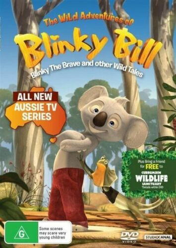 The Wild Adventures of Blinky Bill - The Brave And Other Wild Tales DVD : NEW