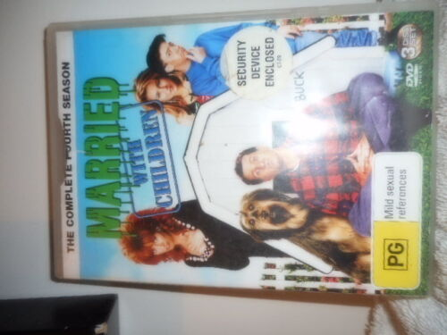 MARRIED WITH CHILDREN SERIES 4 DVD SET