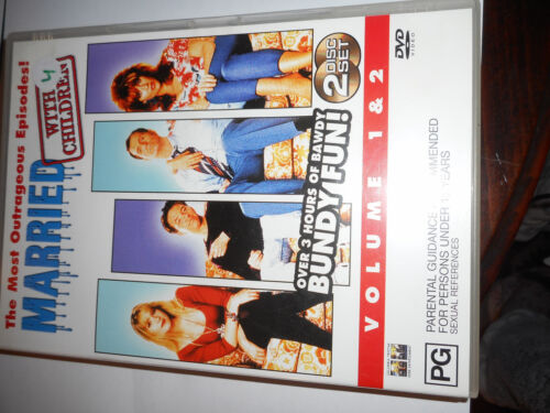 MARRIED WITH CHILDREN VOLUME 1 AND 2 DVD SET