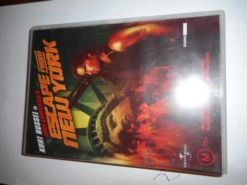 ESCAPE FROM NEW YORK DVD ,ICONIC FILM