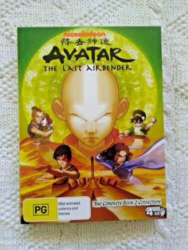 AVATAR - THE LAST AIR BENDER – THE COMPLETE BOOK 2 COLLECTION - DVD, 4-DISC- R-4